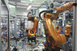 Montageanlage für Getriebekomponenten