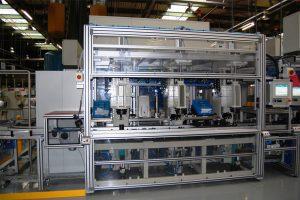 Anlagenbau Automotive: Montagelinie für eine Hydraulikpumpe