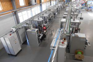 Montageanlage für Bremssysteme