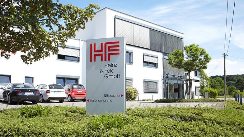 Außenansicht Firmengebäude Heinz & Feld GmbH