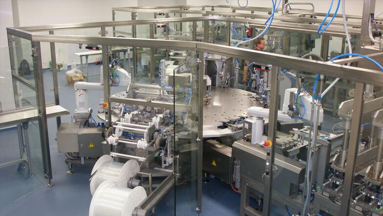 Sondermaschinenbau Saarland - Montageanlage für die Medizintechnik